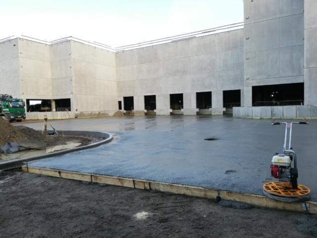 betonvloer laadkades